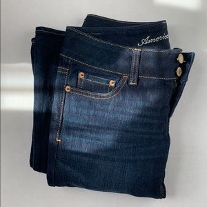 BRAND NEW - American Eagle// Navy Bootcut Jeans